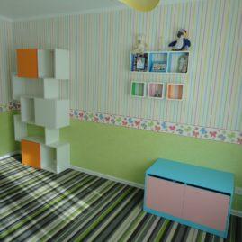 Отделка детской комнаты